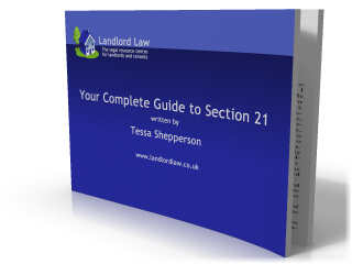 Tessa's book on section 21